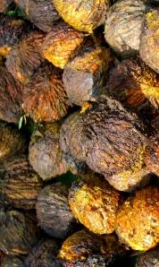 Freshly de-hulled Black Walnuts