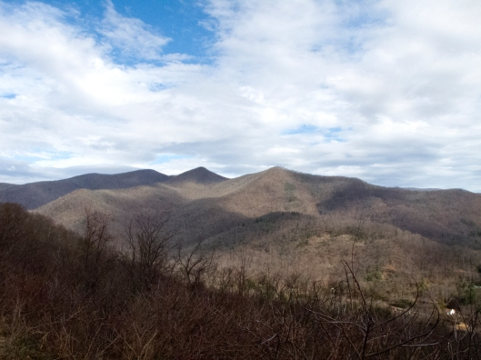 Blue Ridge in Winter