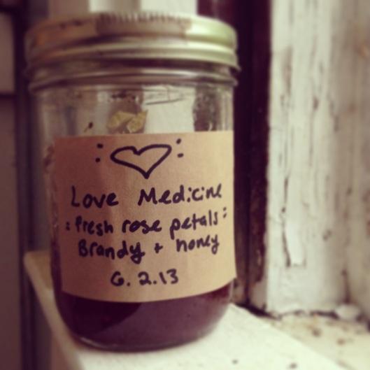 rose love medicine