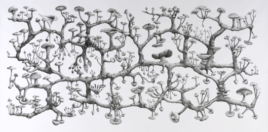 Richard Giblett - Mycelium Rhizome