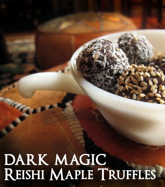 dark magic truffles