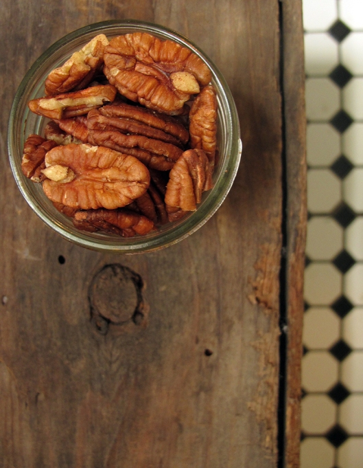 Measured pecans