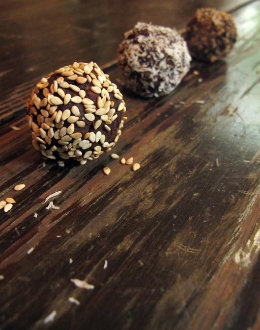 reishi balls in a row