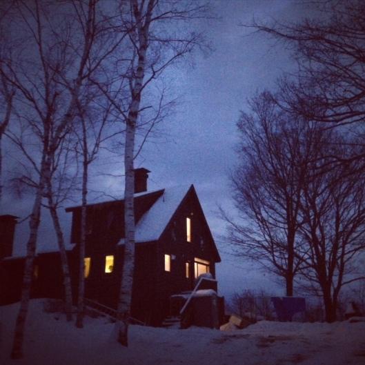 lit house adirondacks