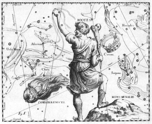 Astronomy-Map-Bootes-Hevelius