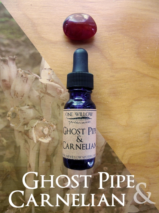 Ghost pipe + Carnelian final