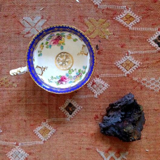Hematite and teacup