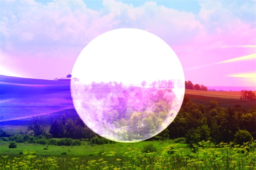 Technicolor moon