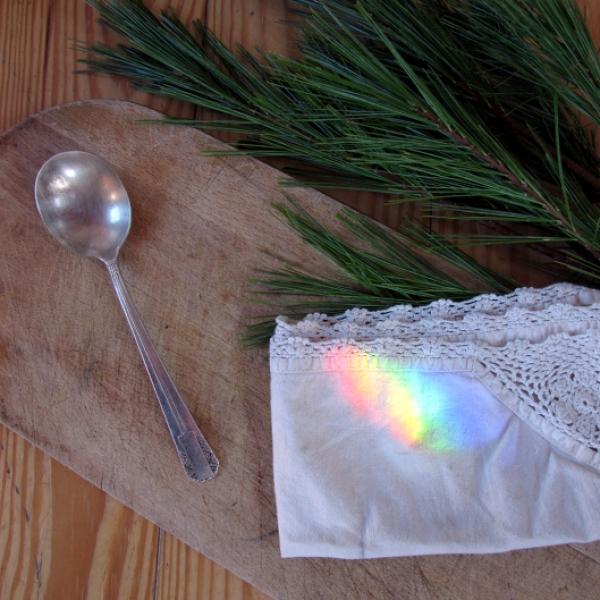 Rainbow with spoon