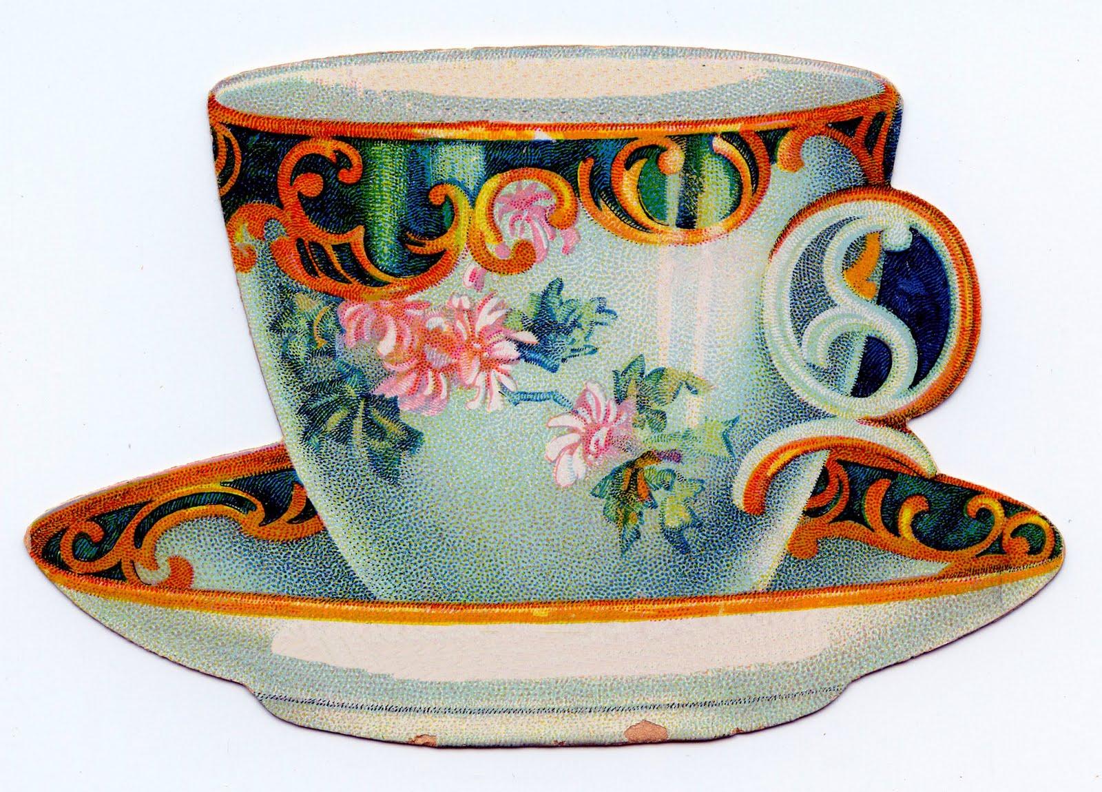 vintage-tea-cup-clipart-clipart-kid